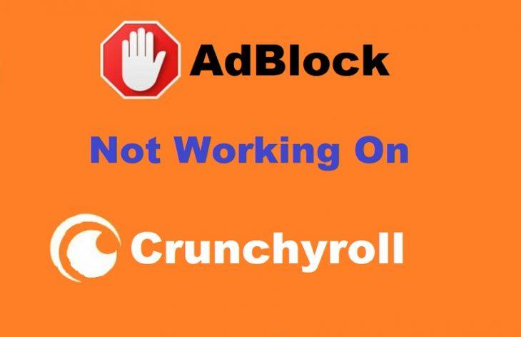 adblock not working on crunchyroll